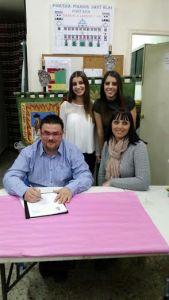 Poligono de San Blas Firma contrato